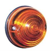 Perei RL300 Series 73mm Round BULB FRONT INDICATOR Light Cable Entry 12V - RL325-12V