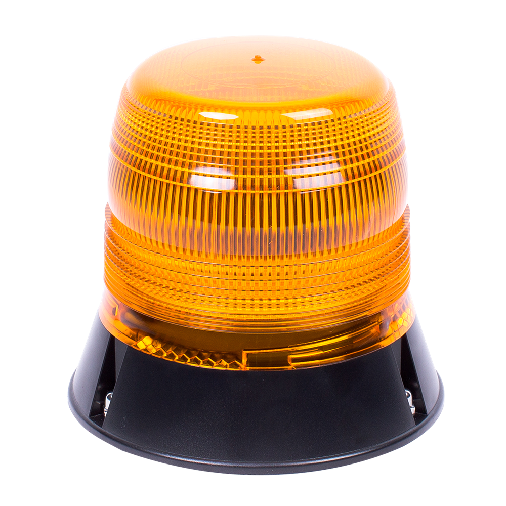 ECCO 400 Series R65 LED Single Bolt Beacon - Amber