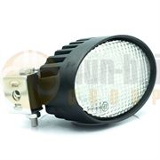 LED Global LG847 Oval 3200lm 8-LED Work Light Fly Lead 12/24V