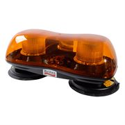 Britax A440 CAP168 Static Flash Magnetic Mount Mini Lightbar - Amber