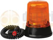 LAP Electrical LAP Range Magnetic Mount Bulb Static Flash CAP168 Amber Beacon 12V - LAP223A