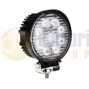 LED Autolamps 11227 Series Round 9-LED 1400lm Work Flood Light 12/24V - 11227BM