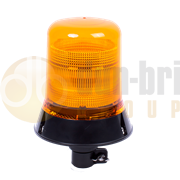 ECCO 500 Series Double Flash Xenon DIN Pole Mount Beacon - Amber