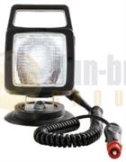DBG Valueline Square Mag Mount BULB Work Flood Light with Handle 12V - 390.PL2100/12V
