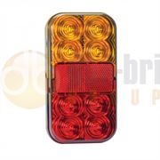 LED Autolamps 149 Series LED Stop / Tail / Indicator / Reflector / Number Plate Lamp