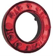 Perei/LITE-wire 95mm Ring Series LED STOP / TAIL Light Fly Lead 24V - ST106SZZ-4-2-AA