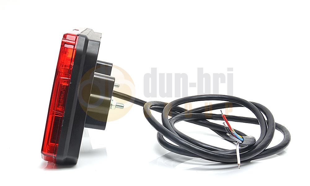 Was W125dl Lh Led Stop Tail Indicator Fog Reverse
