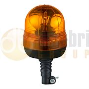 DBG Valueline R65 Rotator Flexible DIN Pole Mount Beacon - Amber