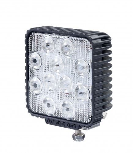 Commercial Vehicle Lighting: Signal-Stat SS/88 Square 11-LED Work Light (4400 Lumens