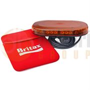 Britax A500 Series LED Magnetic Mount Mini Lightbar - Amber/Amber