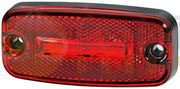 Hella 2TM 345 600-311 LED REAR MARKER Light with REFLECTOR (5.0m Fly Lead) 24V