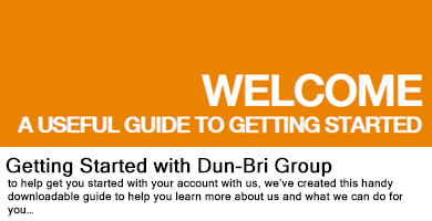 Getting started with Dun-Bri Group