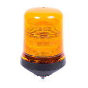 ECCO 500 Series Single Bolt Conical Incandescent Bulb Static Flash Amber Beacon 12V - 528.001