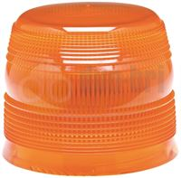 ECCO 910.131 400 Series R65 Replacement LED/Xenon Beacon Lens - Amber