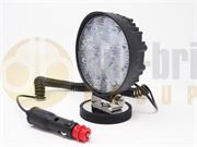 DBG 711.004M Valueline Round 1300lm 9-LED Work Light (Flood) with Magnetic Mount 12V