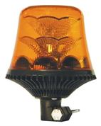 LAP Electrical LRB030 DIN Pole Mount AMBER LED Beacon R65 12/24V
