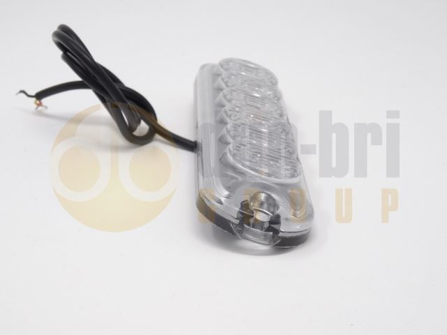 Tech-LED HPF-300 Low Profile R65 6-LED Directional Warning Module - Amber