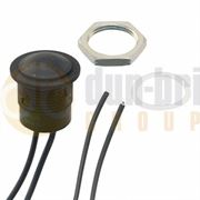 APEM IA IP67 Low Profile Round 16mm Momentary (ON)/OFF Push Button Switch - IAR3F1200