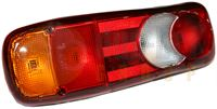 DBG 385.11L0036 LH Rear Combination Lamp with Number Plate (Rear AMP 1.5 Connector)