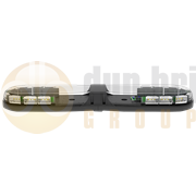 ECCO 13-00010-E 13 Series 770mm AMBER/CLEAR 16 Module LED Lightbar R65 12/24V