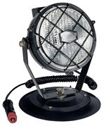 ECCO 999.040 E91108 Series Round Flood Work Light with Grill (Magnetic Mount)