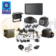 Brigade CLOCS/FORS SILVER Select Camera Monitor Scanner Kit for Rigid Truck / Tipper Vehicles