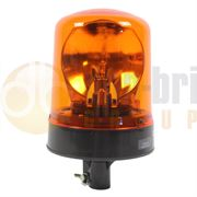 Britax 370 Series R65 Rotator DIN Pole Mount Beacon - Amber