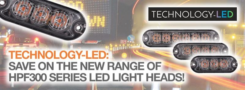 HPF300 Series LED light heads: Now available to order!