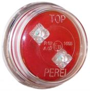 Perei/LITE-wire M19 Series LED REAR MARKER Light Clip-In (Fly Lead) 24V - RM1924V