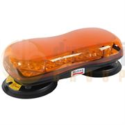 Britax A480 Series LED Magnetic Mount Mini Lightbar - Amber