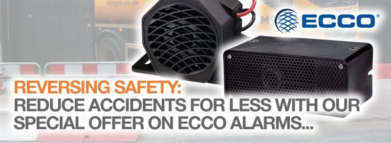 ECCO reversing alarms: Reduce the risk when reversing for less with this special offer