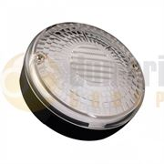 LED Autolamps 140 Series (140mm) Round LED REVERSE Light Fly Lead 12/24V - 140WM