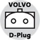 CONNECTOR-VOLVO-D-Plug