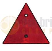 DBG Screw-In Triangular Red Rear Reflector (Pack of 2)