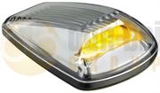 LED Autolamps 77ACMB 77 Series LED Cat. 6 Side Indicator Lamp - Amber/Clear (Single Pack)