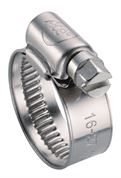 ACE® 16-27mm (0X) Stainless Steel Hose Clip - Pack of 10 - 400.5324