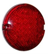 Perei/LITE-wire 95 Series (95mm) Round LED STOP / TAIL Light Superseal 24V - SL9LEDSS24V