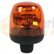 Britax B20 Series R65 Rotator DIN Pole Mount Beacon - Amber