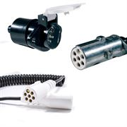 7-Pin 'S' Type Plugs, Sockets & Cables