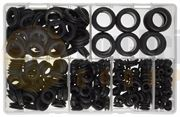 DBG 2-25mm Rubber Wiring Grommets - Assorted Pack of 280
