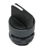 Two Position Standard Black Selector Switch