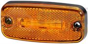 Hella 2PS 345 600-001 LED SIDE MARKER Light REFLECTOR 0.5m Fly Lead 12V