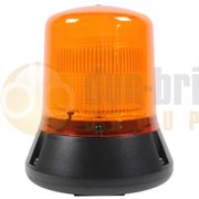 ECCO/Britax B331.00.24V B330 Series Single Bolt AMBER Static Flash Beacon CAP168 24V