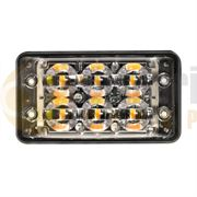 LED Autolamps SSLED R65 6-LED Super-Slim Directional Warning Lamp - Amber
