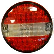 DBG LED 140mm Round STOP / TAIL / REVERSE Light Fly Lead 24V  - 385.1200002