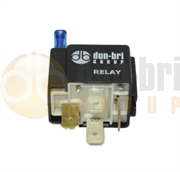 DBG Mini 4-Pin 'Make or Break' Relay with Fuse & Bracket 24V 15A - 255.103
