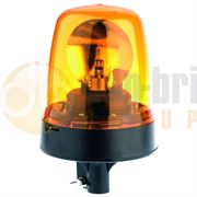 392.00.LB / 392.00.12V / 392.00.24V Britax 390 R65 Rotator DIN Pole Mount Beacon - Amber