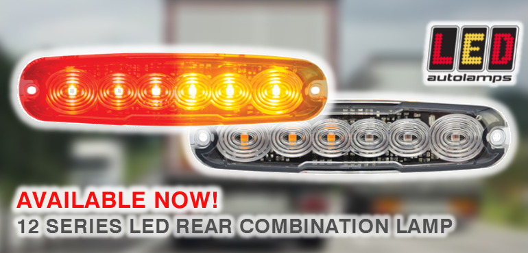 LED Autolamps 12 Series Rear Combination Lamp Banner