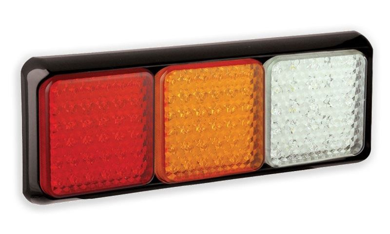 LED Autolamps 80BRAWME 80 Series LED Triple Rear Combination Lamp