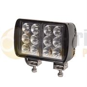 Britax L83 Series Rectangular 12-LED 3000lm Work Flood Light 12/24V - L83.00.LMV